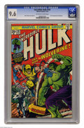 Bronze Age (1970-1979):Superhero, The Incredible Hulk #181 (Marvel, 1974) CGC NM+ 9.6 Off-white to white pages. Here's the most valuable comic book of the Bro...