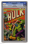 Bronze Age (1970-1979):Superhero, The Incredible Hulk #181 (Marvel, 1974) CGC VF/NM 9.0 Off-whitepages. This is the most valuable comic book of the 1970s acc...