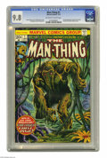 Bronze Age (1970-1979):Horror, Man-Thing #1 (Marvel, 1974) CGC NM/MT 9.8 Off-white to white pages.Man-Thing's own comic continued the storyline from Fea...