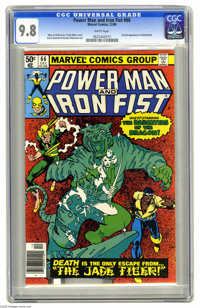 Power Man and Iron Fist #66 (Marvel, 1980) CGC NM/MT 9.8 White pages. Amazingly enough, the second appearance of Sabreto...