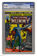 Bronze Age (1970-1979):Horror, Supernatural Thrillers #5 (Marvel, 1973) CGC NM/MT 9.8 Off-white towhite pages. The Living Mummy made his first appearance ...