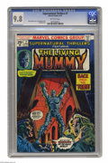Bronze Age (1970-1979):Horror, Supernatural Thrillers #7 (Marvel, 1974) CGC NM/MT 9.8 Off-white pages. The start of The Living Mummy as a series. John Romi...