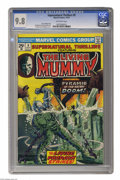 Bronze Age (1970-1979):Horror, Supernatural Thrillers #9 (Marvel, 1974) CGC NM/MT 9.8 Off-whitepages. Features the Living Mummy. Gil Kane and Al Milgrom c...