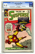 Silver Age (1956-1969):Superhero, Tales of Suspense #49 (Marvel, 1964) CGC VF/NM 9.0 Cream to off-white pages. This comic has the distinction of being the fir...