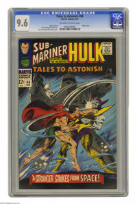Tales to Astonish #88 (Marvel, 1967) CGC NM+ 9.6 Off-white to white pages. Robot cover by Gene Colan and Bill Everett. I...