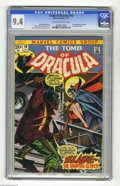 Bronze Age (1970-1979):Horror, Tomb of Dracula #10 (Marvel, 1973) CGC NM 9.4 Off-white to whitepages. Outside of #1, this issue is the most key of the ent...