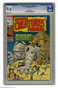 Bronze Age (1970-1979):Horror, Where Creatures Roam #8 Bowling Green pedigree (Marvel, 1971) CGCNM+ 9.6 White pages. Jack Kirby cover and art. Overstreet ...