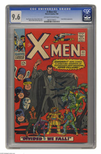 X-Men #22 (Marvel, 1966) CGC NM+ 9.6 Off-white to white pages. Count Nefaria appearance. Werner Roth and Dick Ayers art...