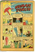 Golden Age (1938-1955):Superhero, Marvel Comics #1 (Timely, 1939) Condition: Coverless. This is the third most-valuable comic issue of all, behind only Acti...