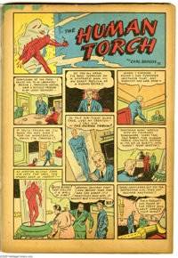 Marvel Comics #1 (Timely, 1939) Condition: Coverless. This is the third most-valuable comic issue of all, behind only Ac...