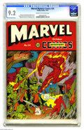 Golden Age (1938-1955):Superhero, Marvel Mystery Comics #24 (Timely, 1941) CGC NM- 9.2 Cream to off-white pages. Here's a nice copy for your bidding pleas...