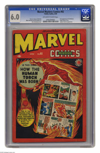 "Marvel Mystery Comics #92 (Timely, 1949) CGC FN 6.0 Off-white to white pages. This issue, which Overstreet calls ""s..."