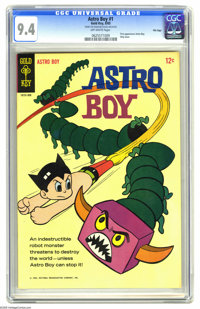 Astro Boy #1 File Copy (Gold Key, 1965) CGC NM 9.4 Off-white pages. This issue, the first appearance of Astro Boy in com...