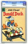 Silver Age (1956-1969):Cartoon Character, Donald Duck #61 File Copy (Dell, 1958) CGC NM 9.4 Cream to off-white pages. Overstreet 2005 NM- 9.2 value = $60. CGC census ...
