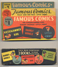 Platinum Age (1897-1937):Miscellaneous, Famous Comics #1-3 Set Including Box (King Features Syndicate,1934). If you've never seen these before, don't feel bad -- t... (3Comic Books)