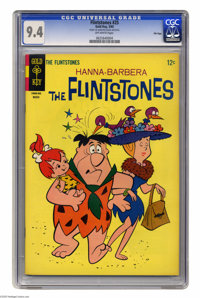 Flintstones #25 File Copy (Gold Key, 1965) CGC NM 9.4 Off-white pages. Overstreet 2005 NM- 9.2 value = $60. CGC census 4...