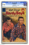 Silver Age (1956-1969):Miscellaneous, Four Color #964 The Hardy Boys - File Copy (Dell, 1959) CGC NM+ 9.6 Off-white pages. If you're not familiar with this incarn...
