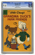 Silver Age (1956-1969):Cartoon Character, Four Color #1010 Grandma Duck's Farm Friends - File Copy (Dell, 1959) CGC NM+ 9.6 Off-white to white pages. Everyone's favor...