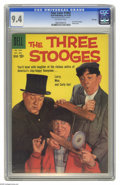 Silver Age (1956-1969):Miscellaneous, Four Color #1043 The Three Stooges - File Copy (Dell, 1959) CGC NM 9.4 Off-white pages. Let it be known that we at Heritage ...