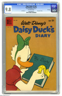 Four Color #1150 Daisy Duck's Diary File Copy (Dell, 1960) CGC NM/MT 9.8 Off-white pages. Looking for a gem copy of this...