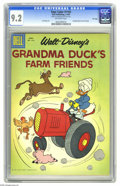 Silver Age (1956-1969):Cartoon Character, Four Color #1161 Grandma Duck's Farm Friends - File Copy (Dell, 1961) CGC NM- 9.2 Off-white pages. Carl Barks art. Overstree...