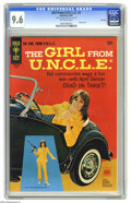 Silver Age (1956-1969):Miscellaneous, Girl From U.N.C.L.E. #2 File Copy (Gold Key, 1967) CGC NM+ 9.6 Off-white pages. Photo front and back covers featuring Stepha...