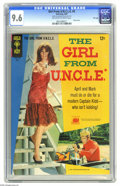 Silver Age (1956-1969):Miscellaneous, Girl From U.N.C.L.E. #3 File Copy Gold Key, 1967) CGC NM+ 9.6 Off-white to white pages. Photo front and back covers featurin...
