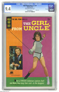 Silver Age (1956-1969):Miscellaneous, Girl From U.N.C.L.E. #4 File Copy (Gold Key, 1967) CGC NM 9.4 Off-white to white pages. Photo front and back covers featurin...