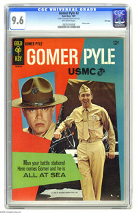Gomer Pyle #2 File Copy (Gold Key, 1966) CGC NM+ 9.6 Off-white pages. Photo front and back covers featuring Jim Nabors...