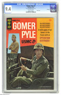 Silver Age (1956-1969):Humor, Gomer Pyle #3 File Copy (Gold Key, 1967) CGC NM 9.4 Off-white pages. Photo front and back covers. Overstreet 2005 NM- 9.2 va...