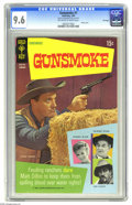 Silver Age (1956-1969):Western, Gunsmoke #1 File Copy (Gold Key, 1969) CGC NM+ 9.6 Off-white towhite pages. Photo cover. Overstreet 2005 NM- 9.2 value = $8...
