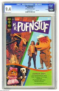 H.R. Pufnstuf #1 File Copy (Gold Key, 1970) CGC NM 9.4 Off-white to white pages. Overstreet 2005 NM- 9.2 value = $310. C...