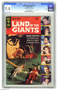 Land of the Giants #1 File Copy (Gold Key, 1968) CGC NM 9.4 Off-white to white pages. Photo cover. Overstreet 2005 NM- 9...