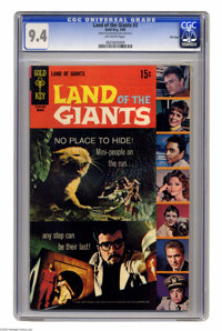 Land of the Giants #3 File Copy (Gold Key, 1969) CGC NM 9.4 Off-white pages. Overstreet 2005 NM- 9.2 value = $50. CGC ce...
