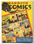 """Golden Age (1938-1955):Humor, Mammoth Comics #1 File Copy (Whitman Publishing Co., 1938) Condition: VG/FN. This oversize comic is a Gerber """"8""""! Featured c..."""