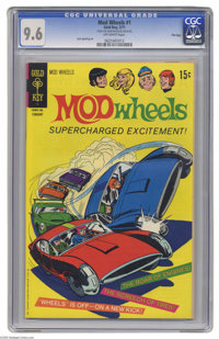 Mod Wheels #1 File Copy (Gold Key, 1971) CGC NM+ 9.6 Off-white pages. Jack Sparling art. Overstreet 2005 NM- 9.2 value =...