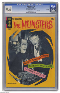 Munsters #10 File Copy (Gold Key, 1966) CGC NM+ 9.6 Off-white to white pages. Herman and Grandpa Munster singing? That m...