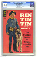 Silver Age (1956-1969):Western, Rin Tin Tin and Rusty #1 File Copy (Gold Key, 1963) CGC NM 9.4 Off-white to white pages. Overstreet 2005 NM- 9.2 value = $80...