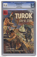 Silver Age (1956-1969):Adventure, Turok #12 File Copy (Dell, 1958) CGC NM+ 9.6 Cream to off-white pages. Lee Elias lovers take note: while the Fiction House/H...