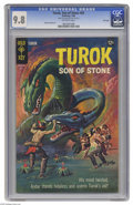 """Silver Age (1956-1969):Adventure, Turok #62 File Copy (Gold Key, 1968) CGC NM/MT 9.8 Off-white pages. While young whippersnappers of today know Turok as a """"Di..."""