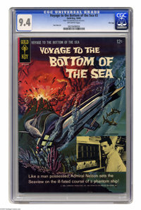 Voyage to the Bottom of the Sea #3 File Copy (Gold Key, 1965) CGC NM 9.4 Off-white pages. Don Heck art. Overstreet 2005...
