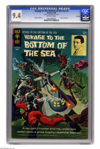 Voyage to the Bottom of the Sea #5 File Copy (Gold Key, 1966) CGC NM 9.4 Off-white pages. Alberto Giolitti art. Overstre...