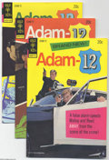 Bronze Age (1970-1979):Miscellaneous, Adam 12 #1-10 File Copies Box Lot (Gold Key, 1973-76). This full short box has multiples of the full run of this series, fea...