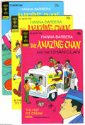 Bronze Age (1970-1979):Cartoon Character, The Amazing Chan & the Chan Clan #1-4 File Copies Group (GoldKey, 1973-74) Condition: Average NM. The Amazing Chan is none ...(4 Comic Books)