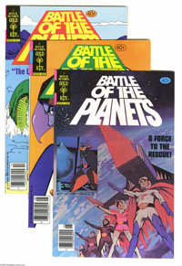 Battle of the Planets #1-10 File Copies Group (Gold Key and Whitman, 1979-81) Condition: Average NM+ . Yes, Gold Key fan...