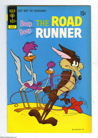 Beep Beep the Road Runner File Copies Box Lot (Gold Key, 1968-73) Condition: Average VF/NM. This full short box from the...