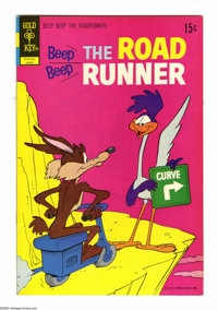 Beep Beep the Road Runner File Copies Box Lot (Gold Key, 1969-73) Condition: Average VF/NM. This full short box of file...