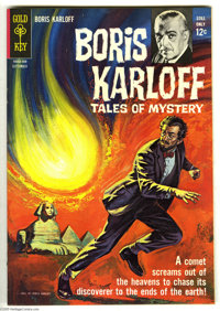 Boris Karloff Tales of Mystery File Copies Group (Gold Key, 1964-80) Condition: Average VF. This group includes issues #...