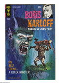 Silver Age (1956-1969):Horror, Boris Karloff Tales of Mystery File Copies Box Lot (Gold Key, 1965-71) Condition: Average VF/NM. This box lot contains appro...