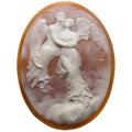 Estate Jewelry:Unmounted Gemstones, Unmounted Shell Cameo. ...